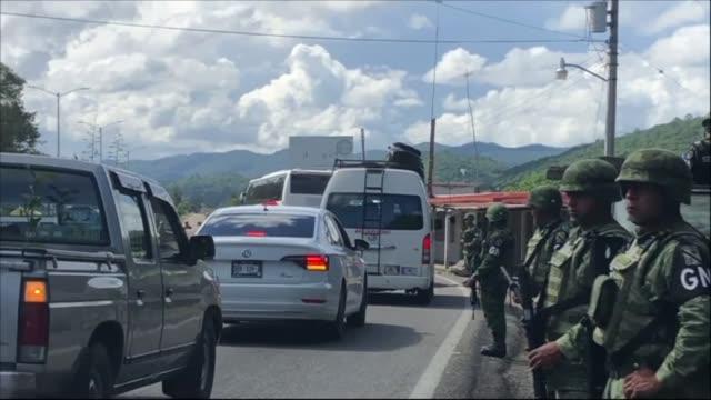 MEX: Mexican National Guard deploys at southern border