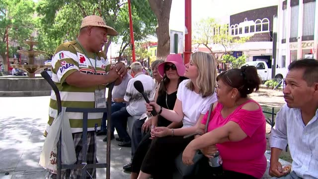 Mexican presidential election marred by corruption and violence Mexico Chihuahua Juarez Local interview Vox pop with reporter