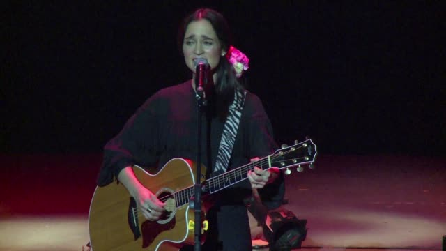 mexican singersongwriter julieta venegas fivetime latin grammy award winnerpresents her new album algo pasa something is happening in mexico city in... - album title stock videos and b-roll footage