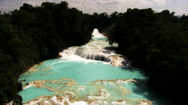 mexico: agua azul - agua点の映像素材/bロール