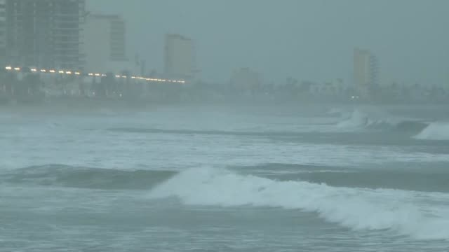 mexico braces as hurricane willa is expected to hit with potentially deadly wind and flooding - pacific ocean stock videos & royalty-free footage