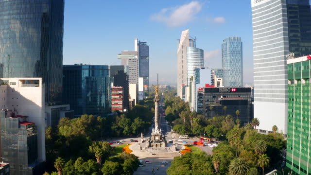 mexico city aerial view - mexico city stock videos & royalty-free footage