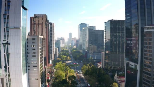 vídeos y material grabado en eventos de stock de vista aérea de la ciudad de méxico - ciudad de méxico