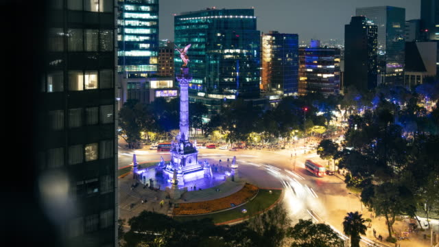 Mexico City Night Time Lapse