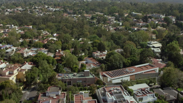 mexico city over bosque de chapultepec - mid distance stock videos & royalty-free footage