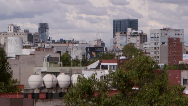 mexico city skyline - mexico city stock videos & royalty-free footage