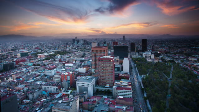 stockvideo's en b-roll-footage met time lapse: mexico city - mexico stad