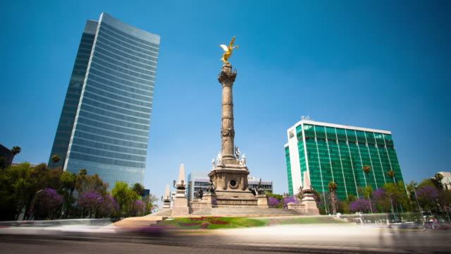 vidéos et rushes de temps qui passe: mexico city - mexico
