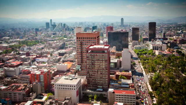 zeitraffer: mexiko city - mexico city stock-videos und b-roll-filmmaterial