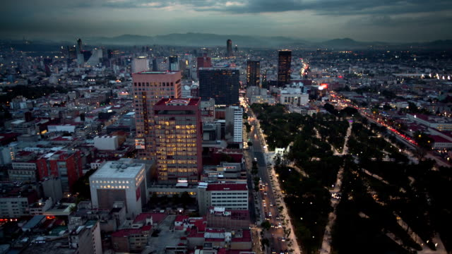 mexico city - torre latinoamericana stock videos & royalty-free footage