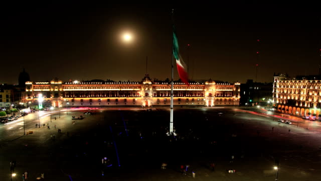 mexico city (zocalo - mexico city stock-videos und b-roll-filmmaterial