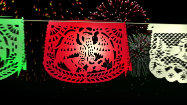 mexiko fiesta mexikanische feier - mexiko stock-videos und b-roll-filmmaterial