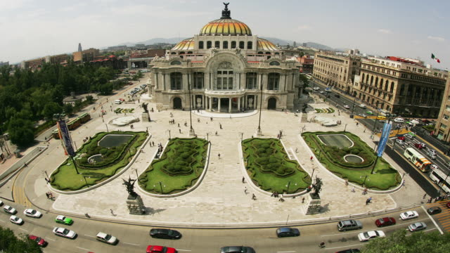 T/L, HA, MS, FISH EYE, Mexico, Mexico City, Palacio de Bellas Artes