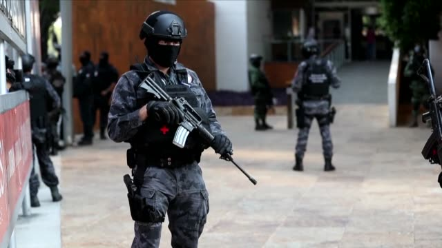 mexico on tuesday announced the arrest of a senior lieutenant of the jailed joaquin chapo guzman who was allegedly engaged in a bloody struggle to... - sentencing stock videos & royalty-free footage