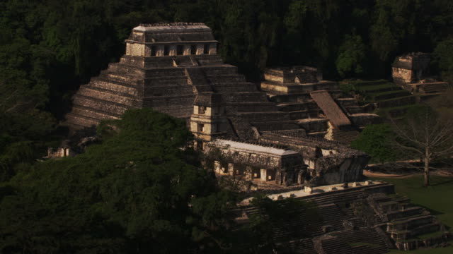 mexico : palenque - mayan stock videos & royalty-free footage