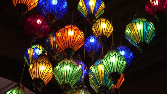 mexico tlaquepaque animal pot - lanterna attrezzatura per illuminazione video stock e b–roll