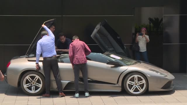 mexico will auction off scores of luxury cars seized by police and president andres manuel lopez obrador said the proceeds from the sale of the 82... - luxury stock videos & royalty-free footage