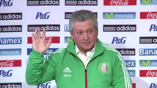 mexico's football federation named their third manager in less than a week on thursday hoping victor manuel vucetich alias king midas will use his... - touch football video stock e b–roll