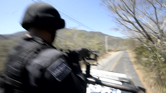 mexico's most wanted drug lord servando gomez, whose knights templar cartel smuggled drugs to the us and iron ore to china is finally captured,... - michoacán video stock e b–roll