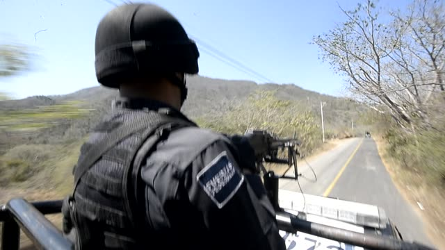 mexico's most wanted drug lord servando gomez, whose knights templar cartel smuggled drugs to the us and iron ore to china, is finally captured,... - michoacán video stock e b–roll