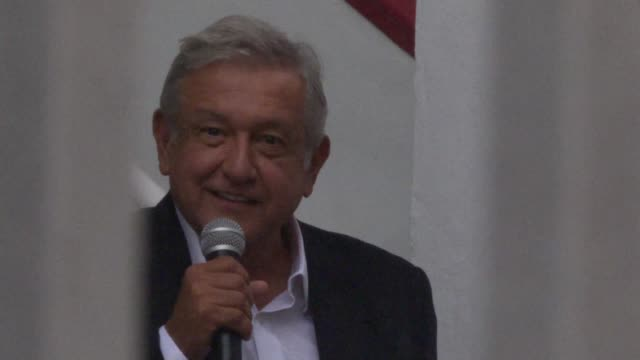 Mexico's President Elect Andres Manuel Lopez Obrador announces he will not attend the Pacific Alliance Summit because the National Electoral...