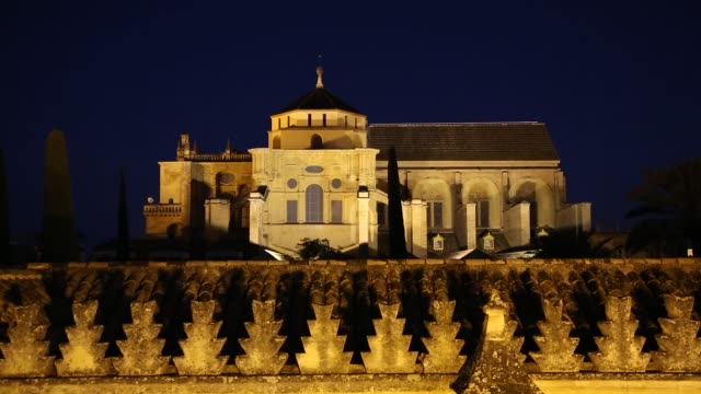 mezquita in cordoba, andalusia, spain - mesquita stock videos & royalty-free footage