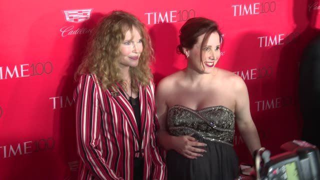 mia farrow and guest at 2016 time 100 gala time's most influential people in the world red carpet at jazz at lincoln center on april 26 2016 in new... - mia farrow stock videos & royalty-free footage
