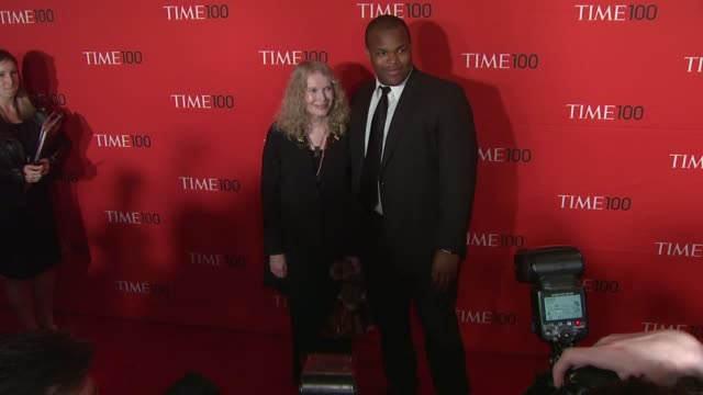 mia farrow isaiah farrow at time 100 gala at frederick p rose hall jazz at lincoln center on april 24 2012 in new york new york - mia farrow stock videos & royalty-free footage