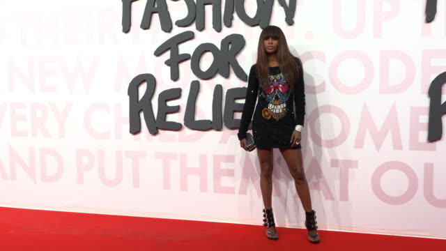 mia frye at fashion for relief fashion catwalk - the 71st cannes fillm festival at aeroport cannes mandelieu on may 13, 2018 in cannes, france. - カンヌ・マンデリュー空港点の映像素材/bロール