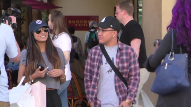 mia khalifa shopping in beverly hills at celebrity sightings in los angeles on october 20 2017 in los angeles california - mia khalifa stock videos and b-roll footage