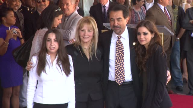 Mia Mantegna Arlene Mantegna Joe Mantegna and Gia Mantegna at the Joe Mantegna Honored with a Star on the Hollywood Walk of Fame at Hollywood CA