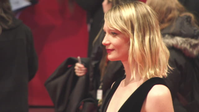 Mia Wasikowska at 68th Berlin Film Festival Damsel Red Carpet at Berlinale Palast on February 16 2018 in Berlin Germany
