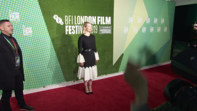 mia wasikowska at 'judy punch' european premiere 63rd bfi london film festival at embankment gardens cinema on october 12 2019 in london england - the times bfi london film festival stock videos & royalty-free footage