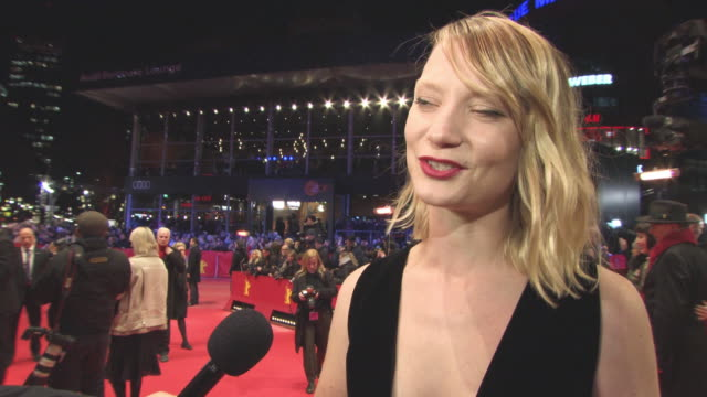 INTERVIEW Mia Wasikowska on her character the films style female character the director being in the film the comedic twist to the film at 68th...