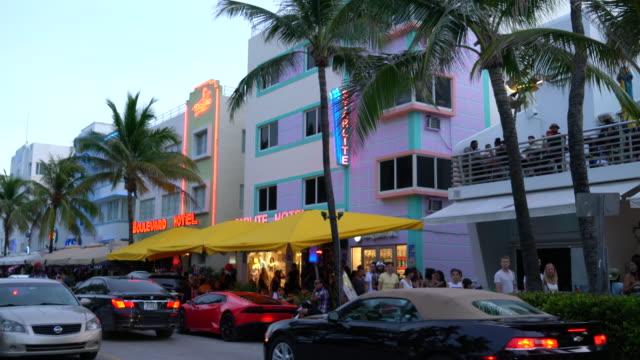 Miami Beach. Art Deco District. South Beach.