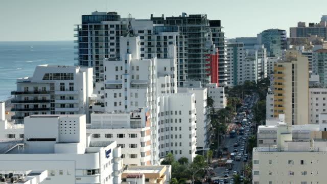 マイアミ ・ ビーチの景観 - アールデコ地区点の映像素材/bロール