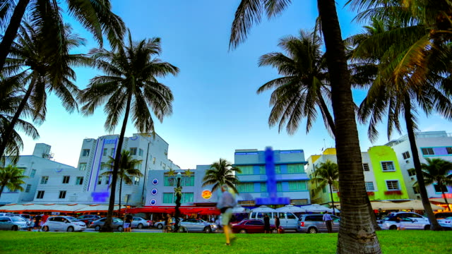 miami beach, fl - biscayne bay stock-videos und b-roll-filmmaterial