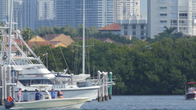 Miami beach marina is in the south of Florida is a host of hundreds of yachts and small boats from all of the world