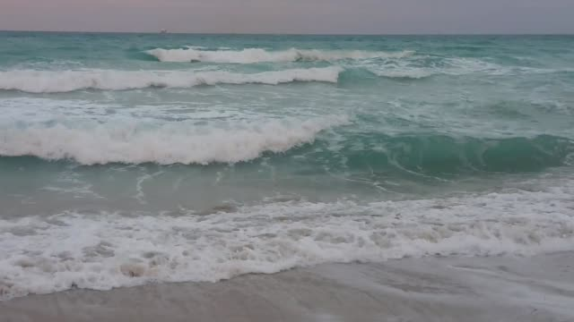 miami beach rip currents can't keep kids from enjoying a beautiful day at the beach. people play in the surf, despite an active rip current warning.... - tide stock videos & royalty-free footage