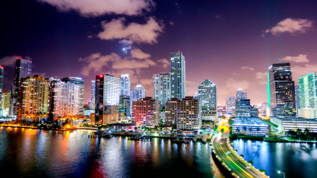 miami, fl - downtown district stock videos & royalty-free footage