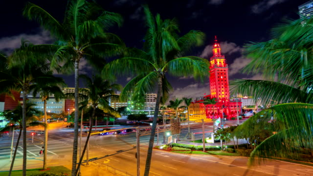 miami, fl - famous place stock videos & royalty-free footage