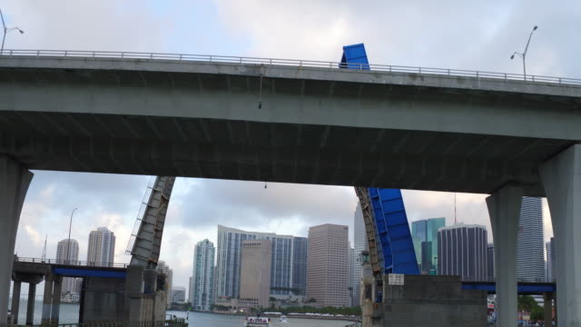 vídeos de stock, filmes e b-roll de miami is a seaport city at the southeastern corner of the us state of florida and its atlantic coast as the seat of miamidade county the municipality... - florida us state