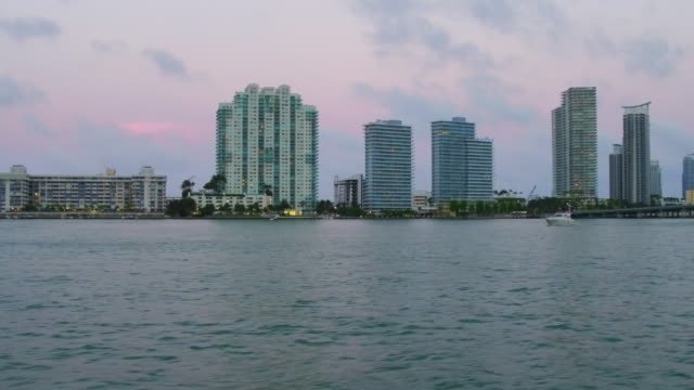 vídeos de stock, filmes e b-roll de miami is a seaport city at the southeastern corner of the us state of florida and its atlantic coast miami's is the eighthmost populous and... - florida us state
