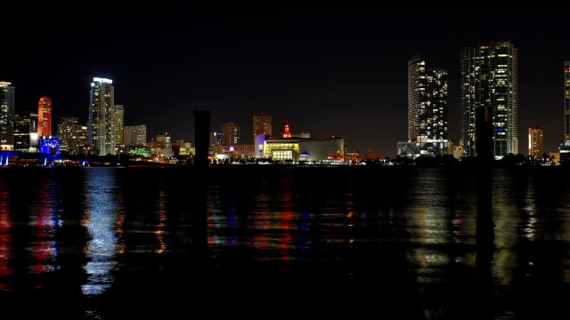 miami - magic city of flashing lights - miami dade county stock videos and b-roll footage