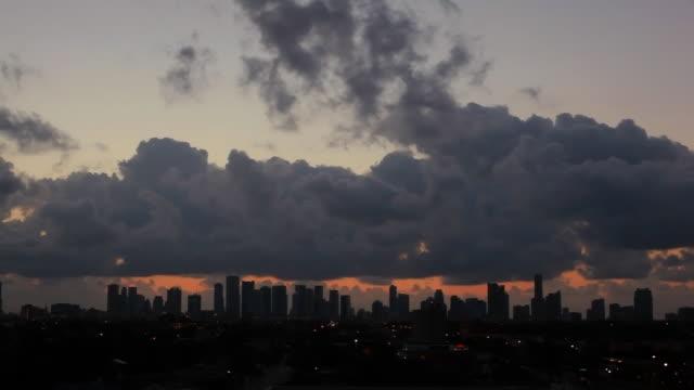 マイアミの日の出 - ペントハウス点の映像素材/bロール