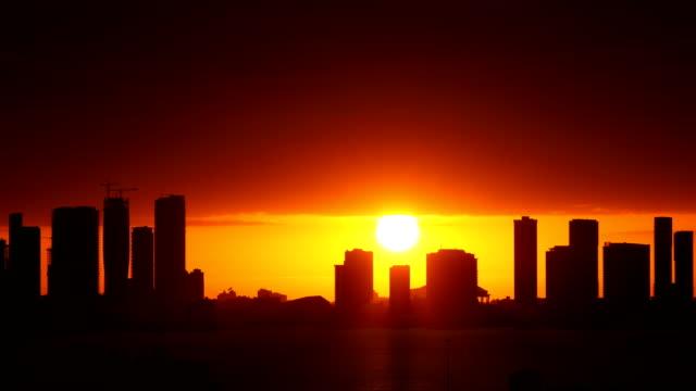 Sonnenuntergang in Miami