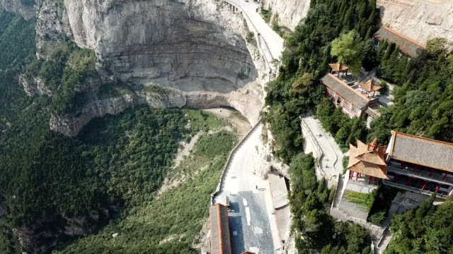 vidéos et rushes de promenade mianshan cliff - lieux géographiques