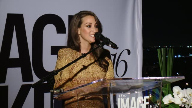 micaela erlanger on the role reversal of being honored tonight at marie claire hosts inaugural image maker awards at chateau marmont on january 12,... - role reversal stock videos & royalty-free footage