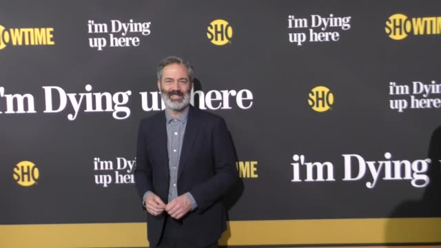 michael aguilar at the premiere of showtime's 'i'm dying up here' - arrivals on may 31, 2017 in los angeles, california. - showtime video stock e b–roll