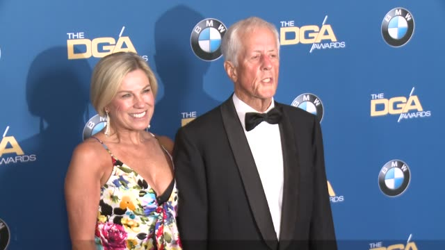 michael apted at 69th annual directors guild of america awards in los angeles ca - directors guild of america awards stock videos & royalty-free footage